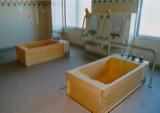 手摺付ひのき風呂