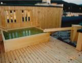 温泉旅館木の風呂